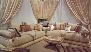 tissu canapé marocain meubles design magasin meuble salon marocain