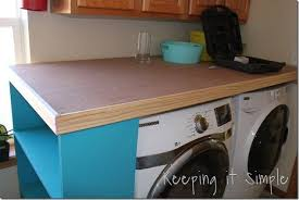 laundry room table top laundry room table office space reveal rooms and golfocd com