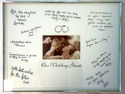 wedding signing frame our wedding signature frame one stop wedding shop
