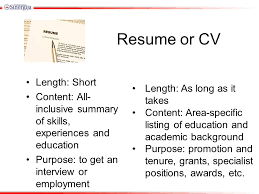 Resume Length Writing A Quality Cv Amy Wiggins Careers Adviser Ppt Download