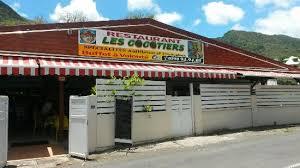cuisine guadeloup nne restaurant les cocotiers trois rivieres route de la plage de