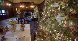 home week christmas at biltmore house