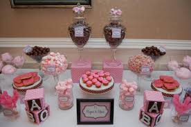 sugar and spice and everything baby shower pink baby shower dessert buffet sugar and spice baby shower