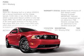 2010 ford mustang problems ford issues tsb regarding clutch problems for the 2011 mustang gt