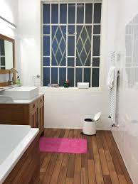 Bad Holzboden Teak Mit Gummifuge Badezimmer Bs Holzdesign