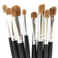 premium eye makeup brushes set nature hair eyes shadow contour