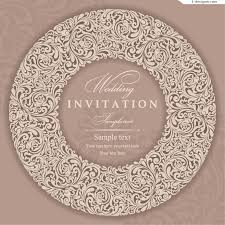 wedding invitations vector 4 designer wedding invitation card vector material