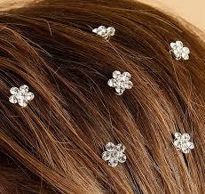 hair spirals bridesmaid flower hair spirals hair twist ins