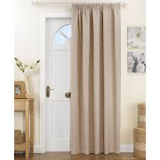 Entry Door Curtains Fascinating Front Door Curtains Fall In With Your Home