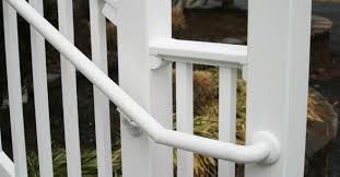 Handrails For Outdoor Steps Handrails For Stairs Vinyl Handrail Rdi