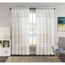 White And Gold Curtains Curtain And Gold Dot Sheer Curtain Intended For White And Gold