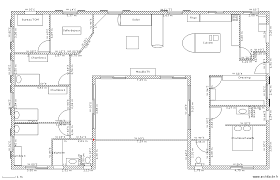 plan maison 150m2 4 chambres plan maison plain pied en u pinteres