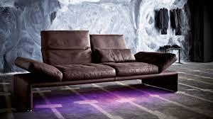 Purple Corner Sofas Corner Sofa Contemporary Leather Fabric Raoul By Kurt