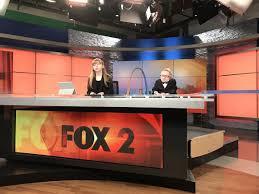 tv studio desk variety u0027 kids takeover the fox 2 anchor desk fox2now com