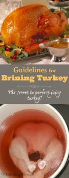 how to brine turkey guidelines and recipe whats cooking america