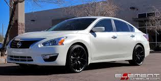 nissan altima white 2005 20x8 5 kmc wishbone satin black on 2015 nissan altima w specs wheels