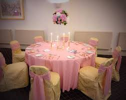 Pink Chair Covers Silver Events Wedding And Event Linen Hire Across Scotland