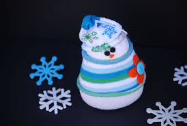 adorable sock snowman craft and winter decor