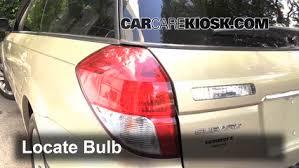 2008 subaru outback brake light bulb tail light change 2005 2009 subaru outback 2009 subaru outback 2 5