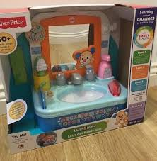 fisher price let s get ready sink fisher price laugh learn let s get ready sink infant baby