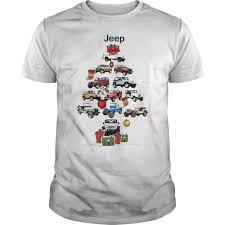 jeep christmas shirt jeep christmas tree shirt hoodie sweater longsleeve t shirt