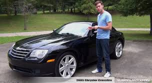 review 2005 chrysler crossfire youtube