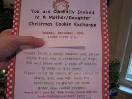 a mother daughter cookie exchange fun times u2014 flair for home