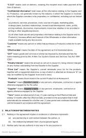 reseller agreement template australia