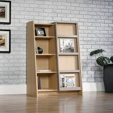 sauder bookcase 5 shelf sauder select display bookcase 417770 sauder