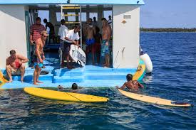 international surfing day in the maldives with ocean dimensions at
