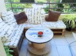 touret bois deco awesome salon de jardin en palette et touret pictures amazing