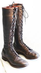 lace up moto boots wolverine 1000 mile cavalry lineman logger biker tall lace up mens