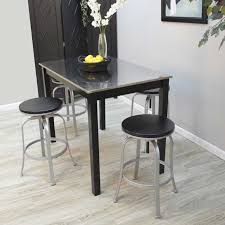 stainless steel bar table forge cooper stainless steel top bar table and taylor adjustable