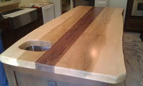 Slab Wood Bar Top Maple Slab Wood Counter Top From Timbergreen Farm
