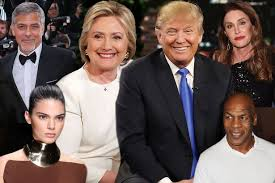 Celebrities Who Are Blind Donald Trump Or Hillary Clinton 10 Celebs Who Have Revealed Which