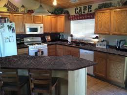 Oak Cabinet Kitchen Kitchen Kitchen Colors With Dark Oak Cabinets Flatware Utensil