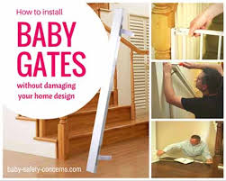 Baby Gate For Banister And Wall Install Baby Gates In Minutes With The Right Tools Baby Safety