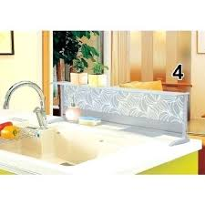 bathroom sink splash guard sink splash guard splash guard for kitchen island sink google search