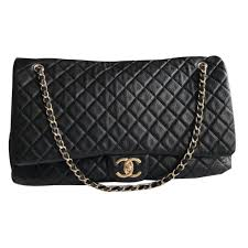 travel chanel images Chanel chanel timeless xxl travel bag leather black ref 49262 jpg