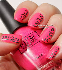 pink and black nail design best nail 2017 fun nails diy stars
