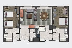resort floor plan club level rooms in orlando at loews royal pacific resort at