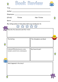 printable book template ks2 book review frame ks2 by steffster teaching resources tes