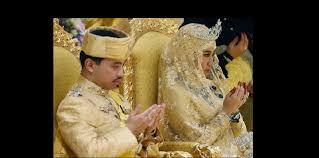 mariage arabe sultan de brunei découvrez à quoi ressemble un mariage de