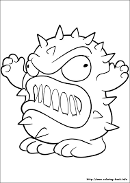 trash pack coloring picture coloring kid