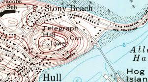 Plymouth Massachusetts Map by Usgenweb Hull Ma