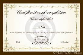 doc 585435 free blank certificate templates u2013 word certificate