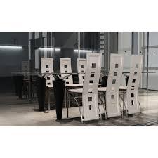 chaises de salle manger design chaises salle a manger design lot de 4 chaises salle manger en eco