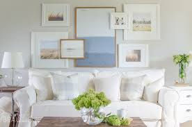 why we chose a white slipcovered sofa a burst of beautiful