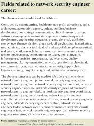 network security engineer resume sample fields related to network