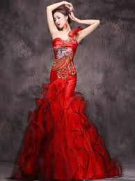 Red Wedding Dresses Chinese Red Wedding Dresses Online Chinese Style Red Wedding Dresses